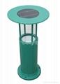 3W green solar LED lawn lantern (DL-SL518) 1