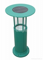 3W green solar LED lawn lantern (DL-SL518)