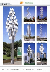 城市廣場景觀燈4