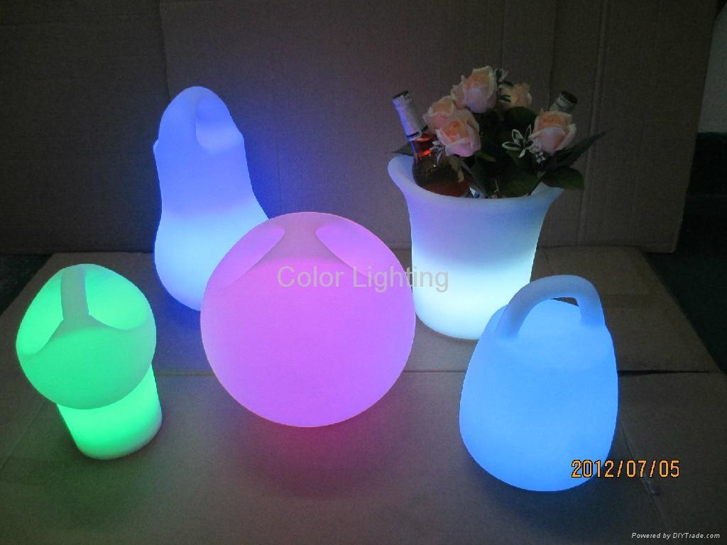 LED炫彩冰桶 发光酒具 5