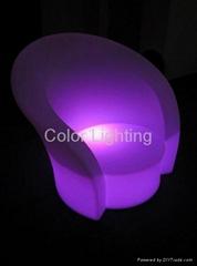 LED发光沙发