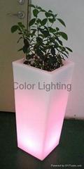 LED flower pot/plant vast