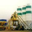 移动式YHZS50混凝土搅拌站