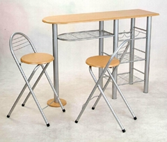Cheap Metal Dining Table & Chair Set -China-Trade-Dining Room Furniture