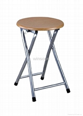 Metal Folding Stool With MDF Top-China-Trade-Living Room Furniture