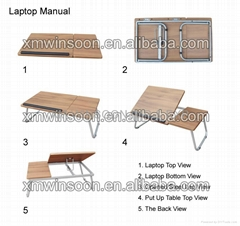 Mini Portable Laptop Desk-China-Trade-Living Room Furniture