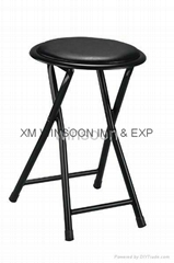 Cheaper Metal Folding Stool-China-Trade-Living Room Furniture