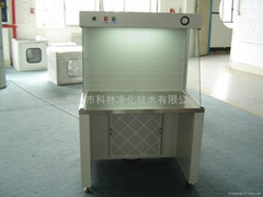 Stainless steel horizontal flow clean bench