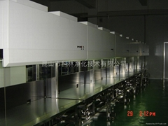 vertical duplex clean bench