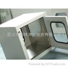 昆山科林不锈钢冷板传递窗 3