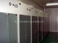 不鏽鋼100級潔淨衣櫃