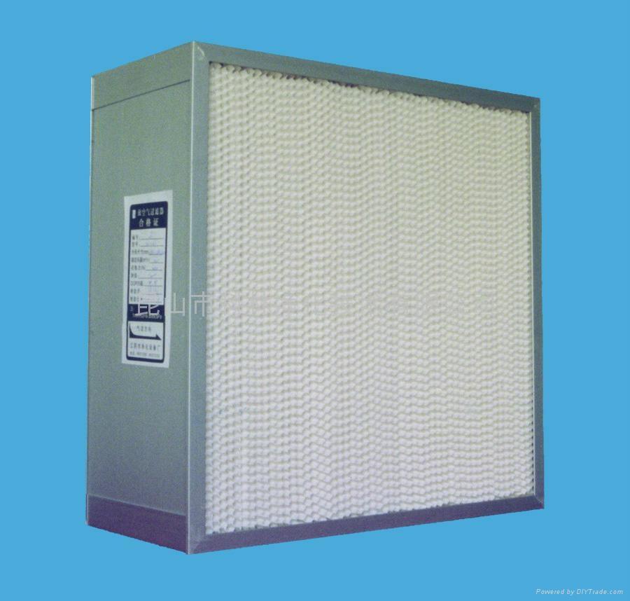 崑山科林初中高效空氣過濾器 4