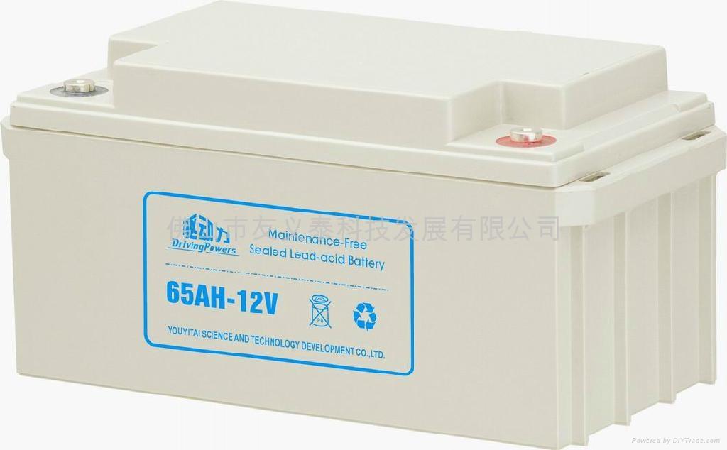 12V65AHUPS蓄电池 1
