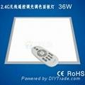 LED無線遙控調光調色面板燈 1