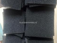 阻燃过滤棉网 阻燃防火过滤海绵 空压机防尘过滤网 防尘网海绵