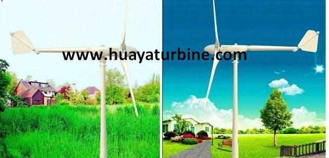 wind turbine 2kw off/on grid working system 1