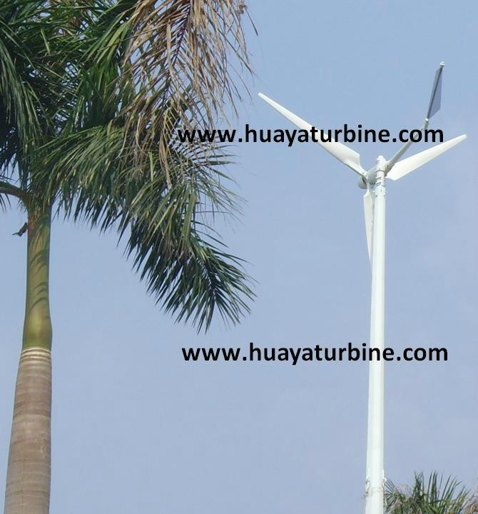 wind turbine 2kw off/on grid working system 2