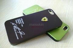 iphone 5 sports car logo ferrari case