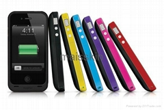 iphone4 4s Mophie Juice Pack plus case 2000mah