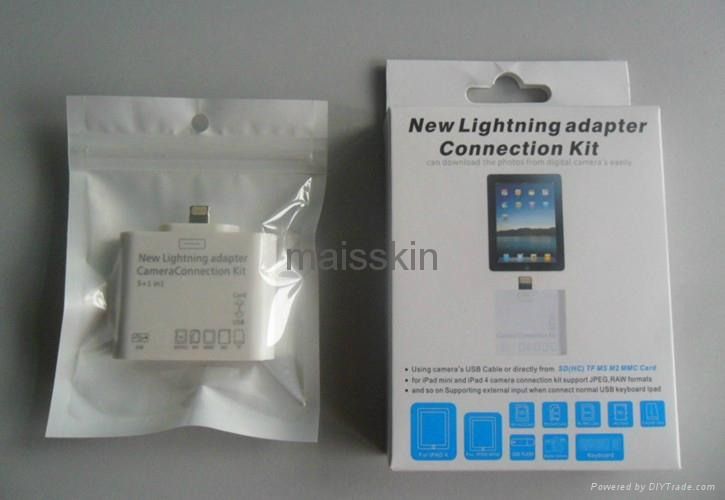 new lightning adapter camera connection 5+1 in 1 kit 1