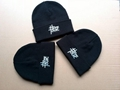 100% Acrylic reversible beanie with