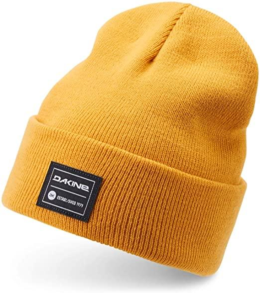 100% Acrylic cuffed beanie with custom woven label patchs 1