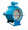 Top entry type segmented ball valve (