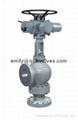 Angle isolation valve