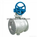 Side entry type segmented ball valve (