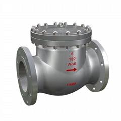 swing check valve