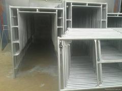 Pre gal H frame scaffolding