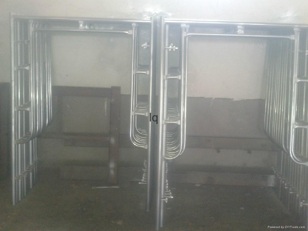 Pre gal H frame scaffolding 2