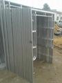 Pre gal H frame scaffolding 4