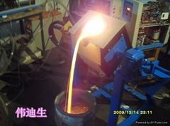 中頻鋁熔煉爐