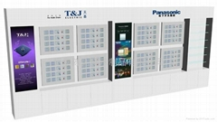 Electrical and electronic display display cabinets