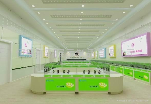 Mobile phone store design and production processing ...
