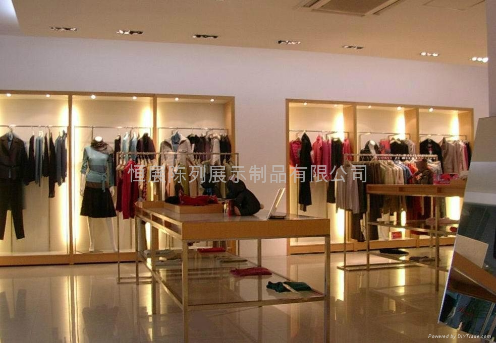 Provide Clothing Store Design And Production