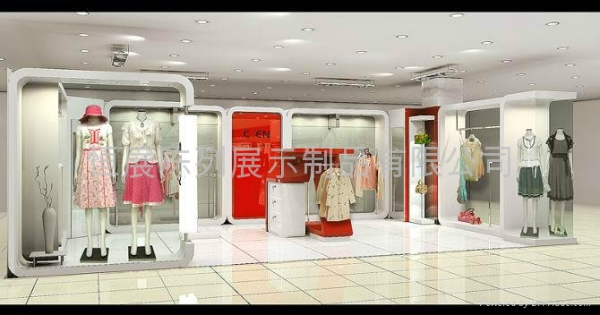 Provide clothing store design and production and ...