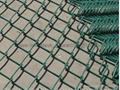 PVC coated chain link fencing with RAL