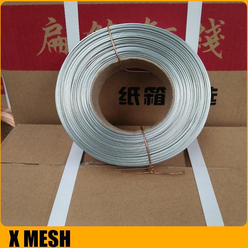 Copper-plated Ga  anized Carton Stitching Flat Wire For Corrugated Box 1