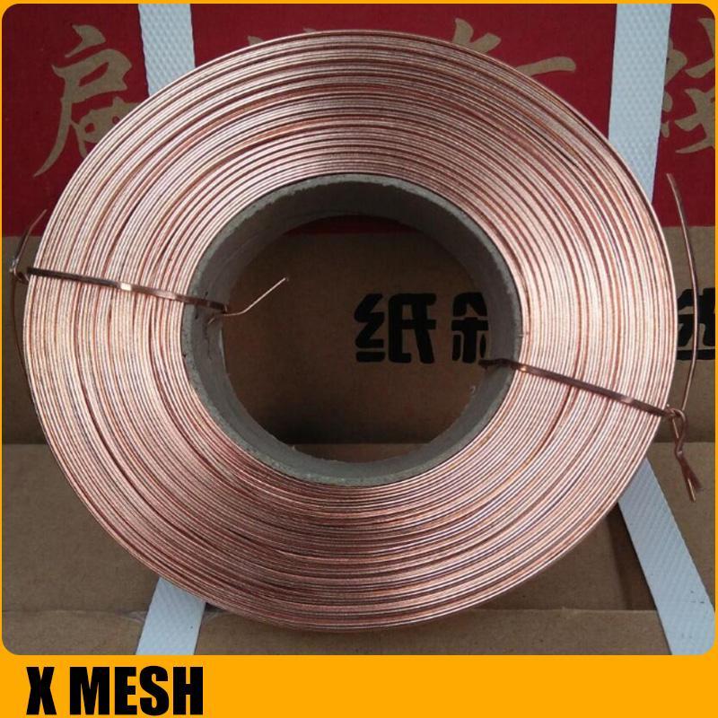 Copper-plated Ga  anized Carton Stitching Flat Wire For Corrugated Box 2