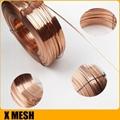 Copper-plated Ga  anized Carton Stitching Flat Wire For Corrugated Box 3