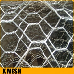 ASTM A975 standard heavily galvanized gabion baskets for erosion control enginee