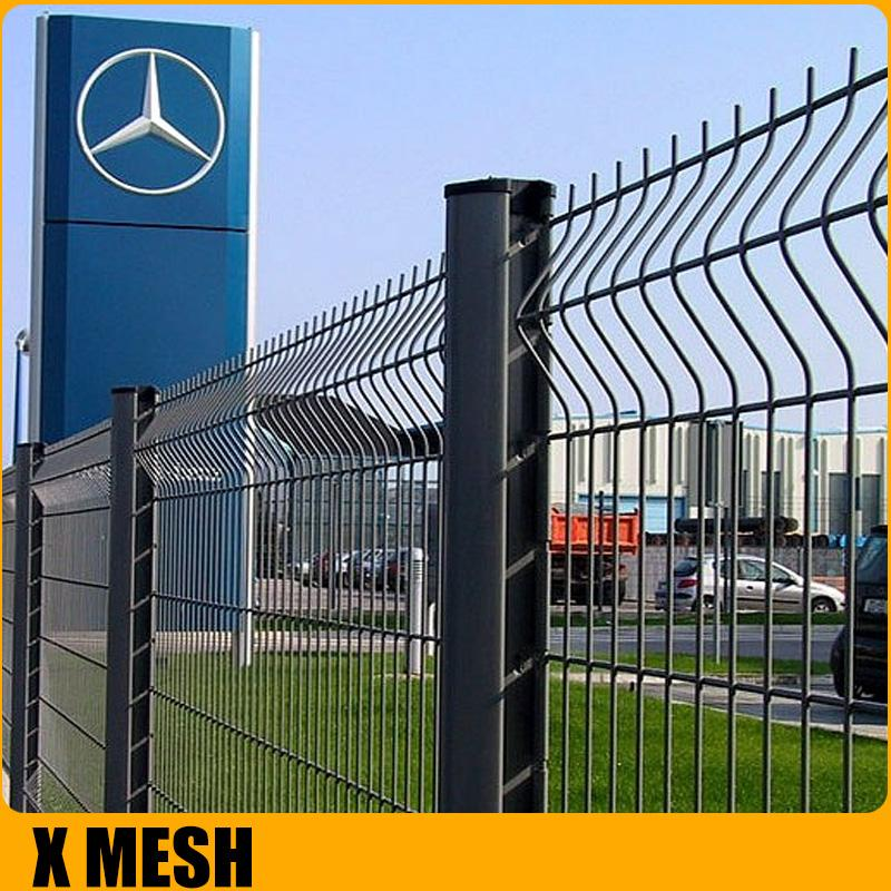 Pvc coated Welded  mesh Fence for airport