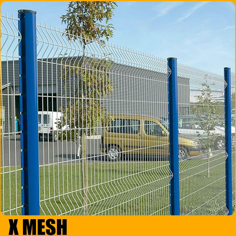 Pvc coated Welded  mesh Fence for airport 2