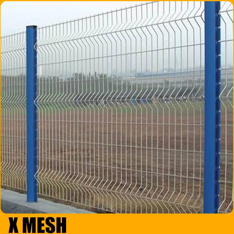 Pvc coated Welded  mesh Fence for airport 4