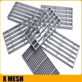 catwalk steel grating with heavy
