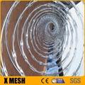 galvanized concertina coil razor wire