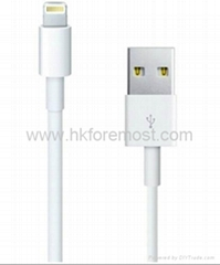 Lightning to USB Cable for iPhone5,8 PIN