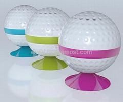 Bluetooth Wireless Speaker Shape Like Golf Ball for mobile phones
